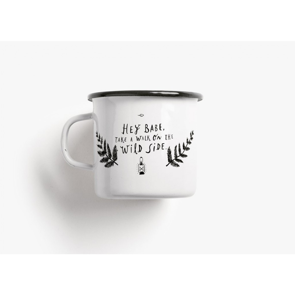 typealive / Emaillebecher Tasse / Wild Side