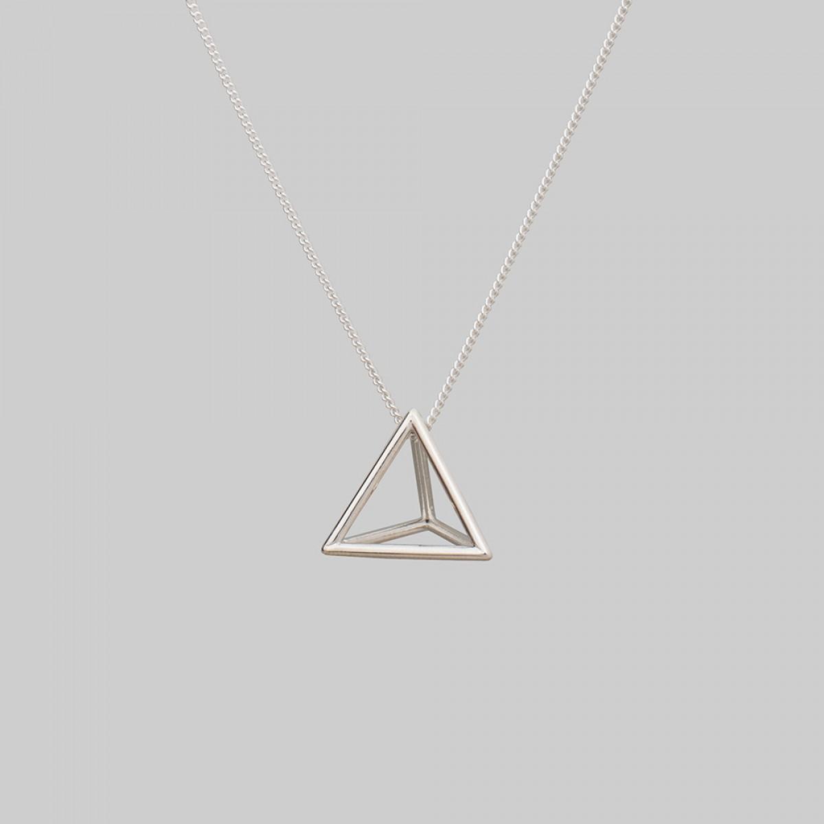 """Teresa Gruber Anhänger """"platonic solids- Tetraeder"""", 925 Silber"""