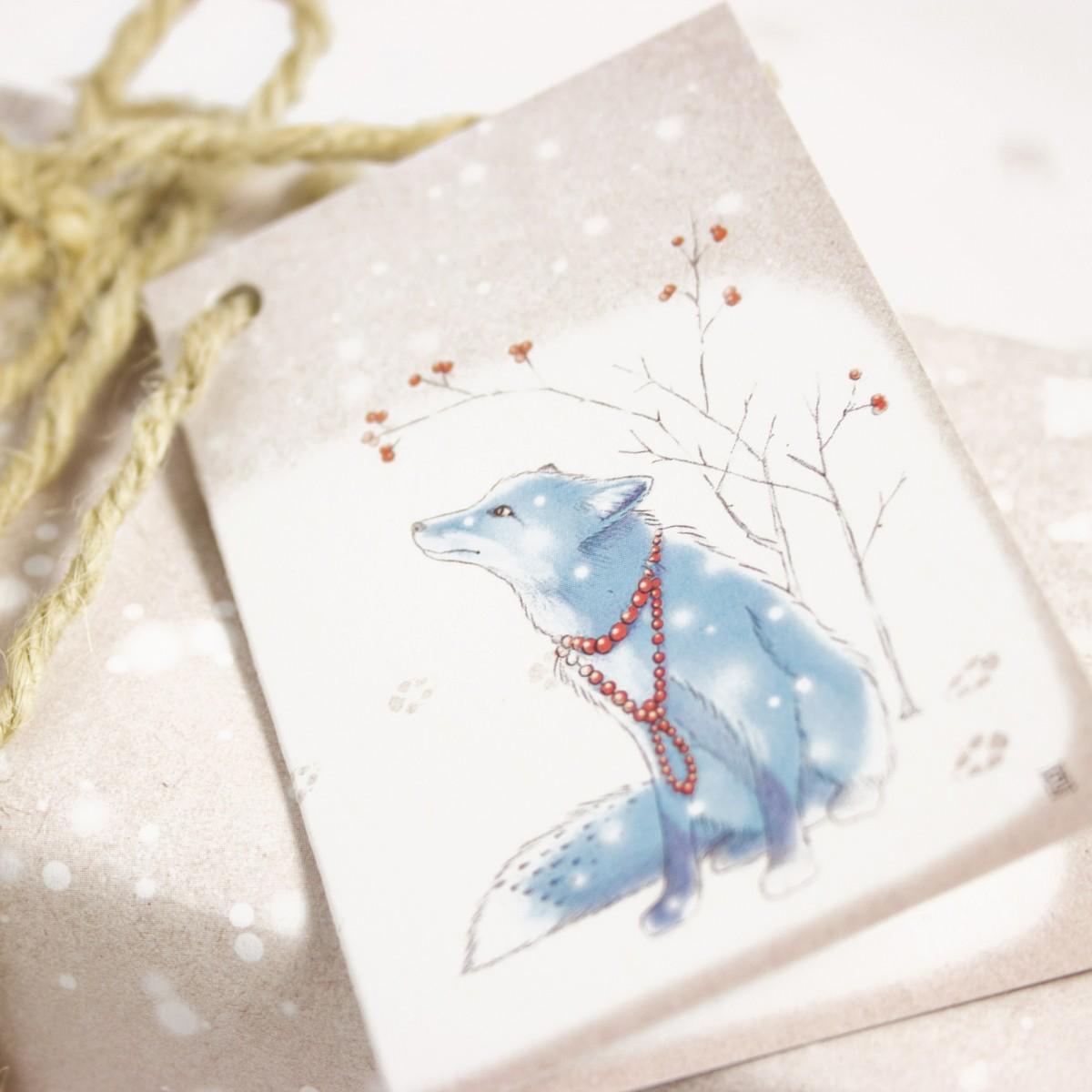 Wintermärchen Geschenkverpackungs-Set