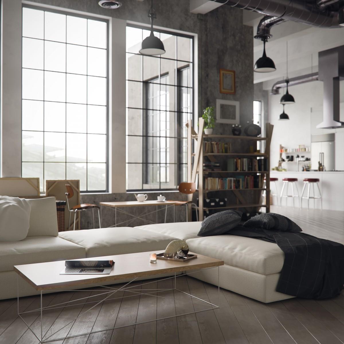 roomify Couchtisch MIGUEL - Wohnzimmertisch Farben: black&white