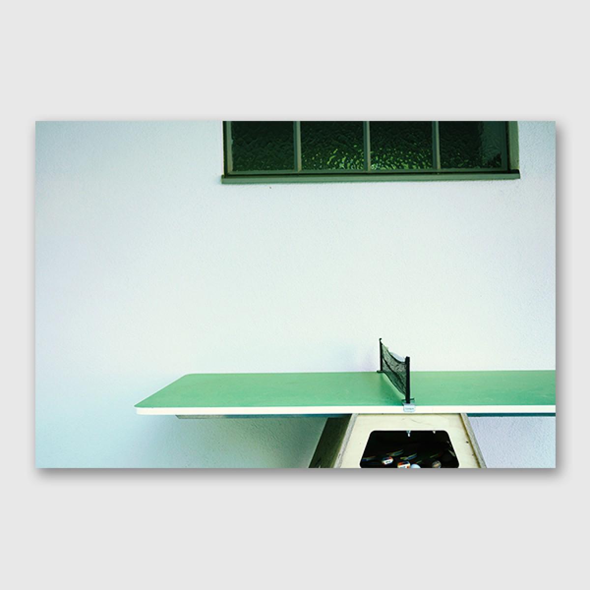"""ZEITLOOPS """"Tischtennis"""", Posterprint, verschiedene Formate"""
