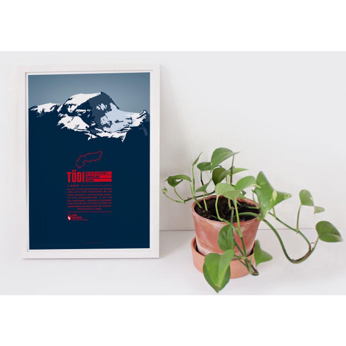 Tödi - Bergdruck