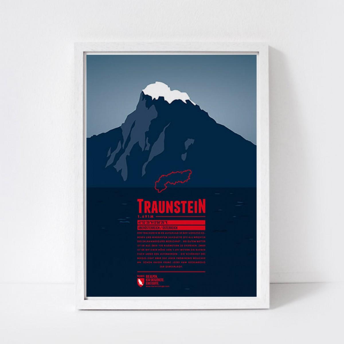 Marmota Maps – Traunstein - Bergdruck