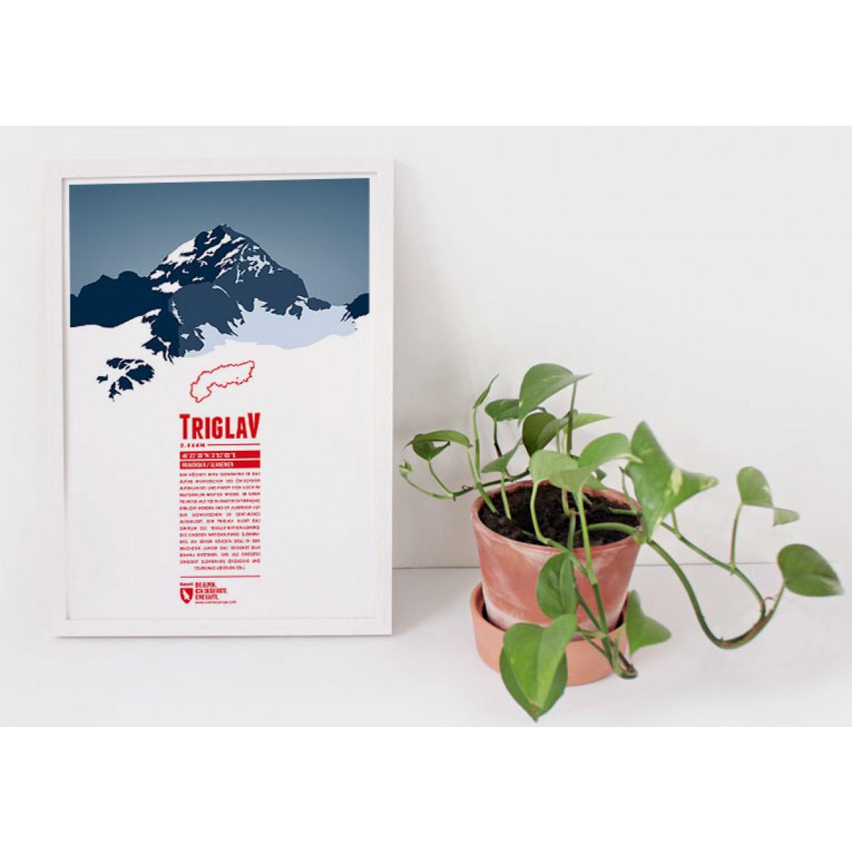 Triglav - Bergdruck