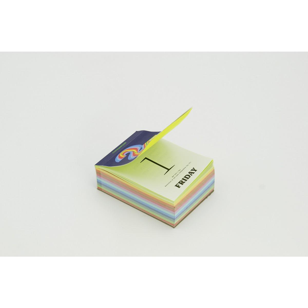 Verlag Hermann Schmidt »Typodarium 2021« Abreißkalender
