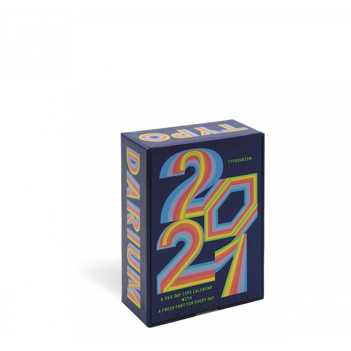 Lars Harmsen | Raban Ruddigkeit »Typodarium 2021« Abreißkalender