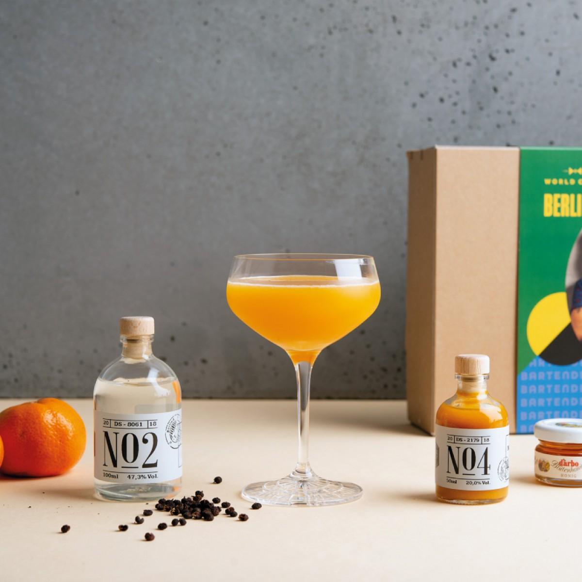 World Class 2018 - Cocktail-Kit mit Zutaten und Rezepten
