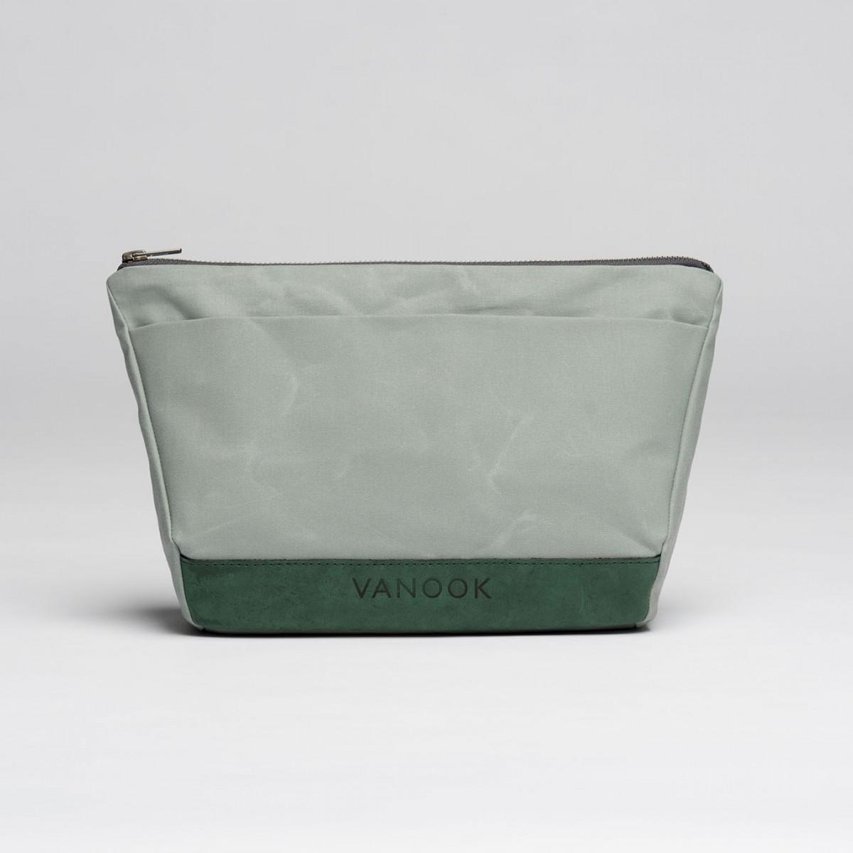 VANOOK Wash Bag Oyster / Malachite