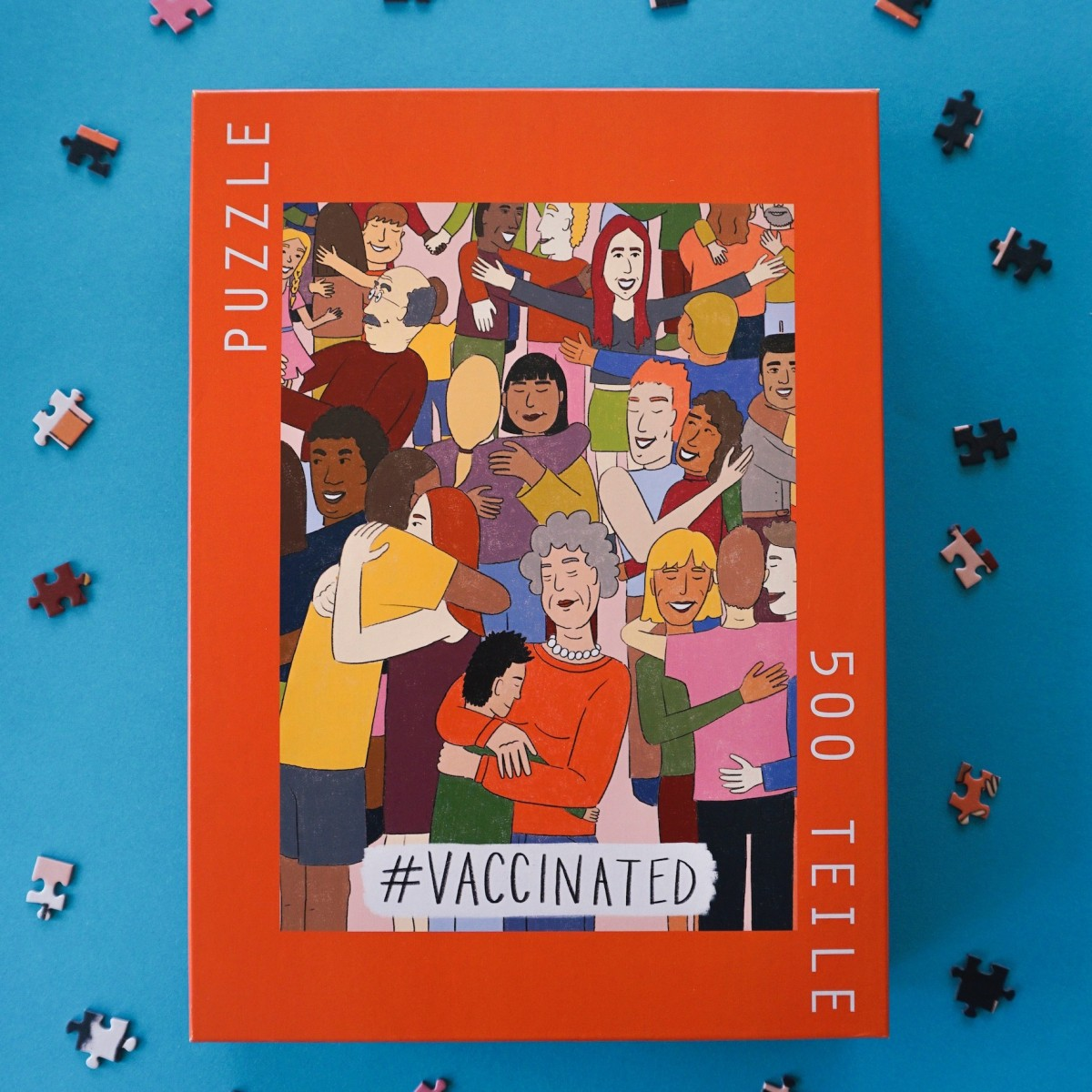 Das Puzzle Kollektiv - Puzzle #VACCINATED