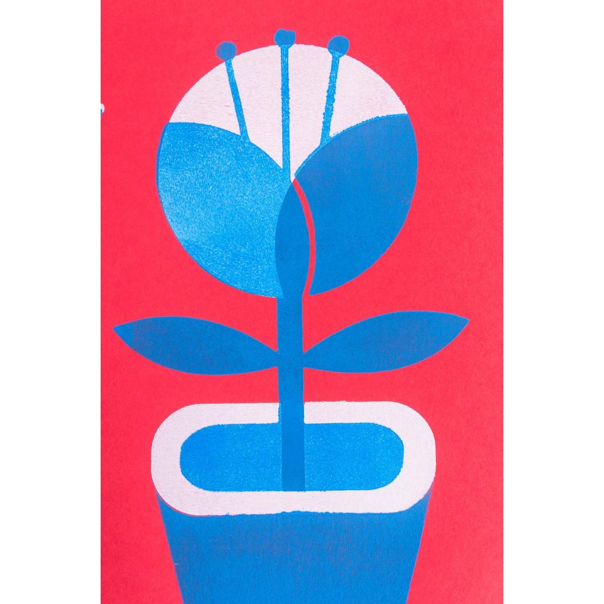 Martin Krusche - Stencildruck »Vasen« DINA3