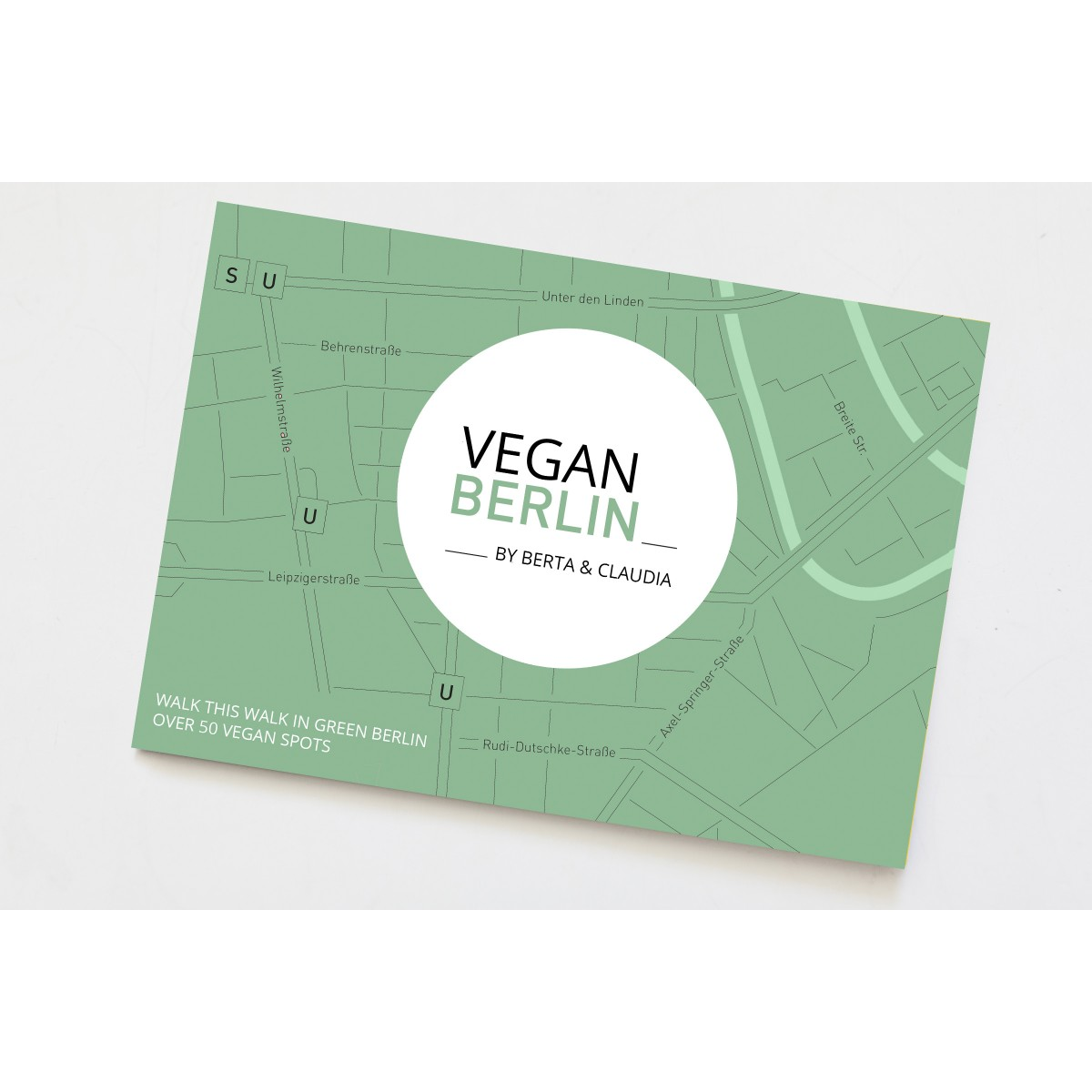 VeganBerlin Map - Walk This Way