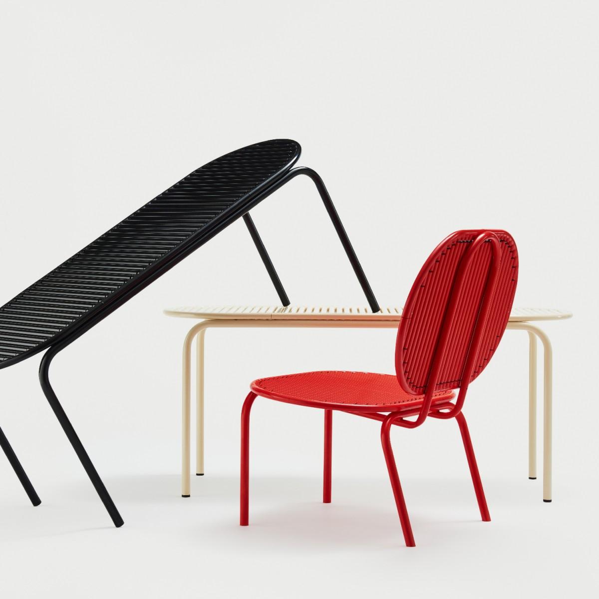 Verena Hennig Roll Lounge Chair