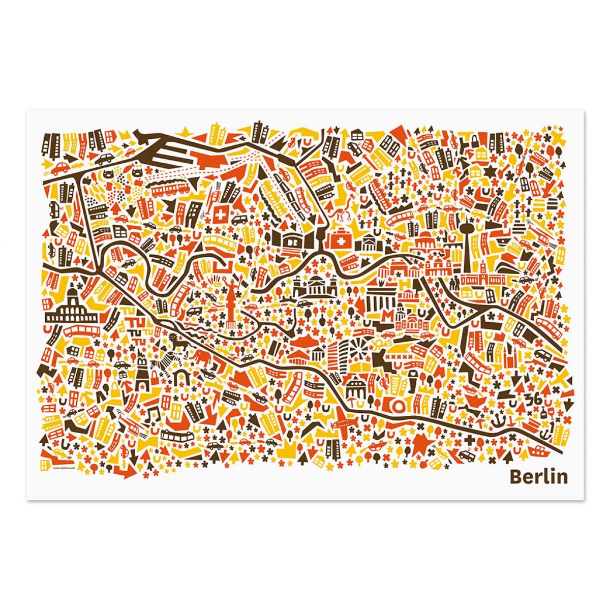 Vianina Berlin Poster 100 x 70