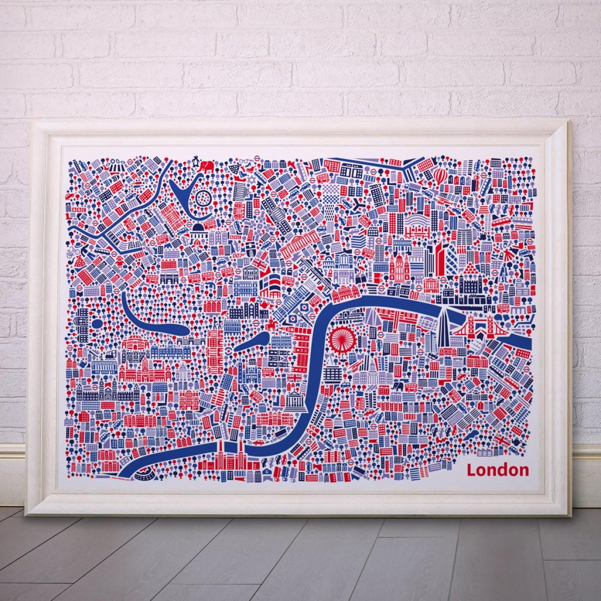 Vianina London Poster 100 x 70