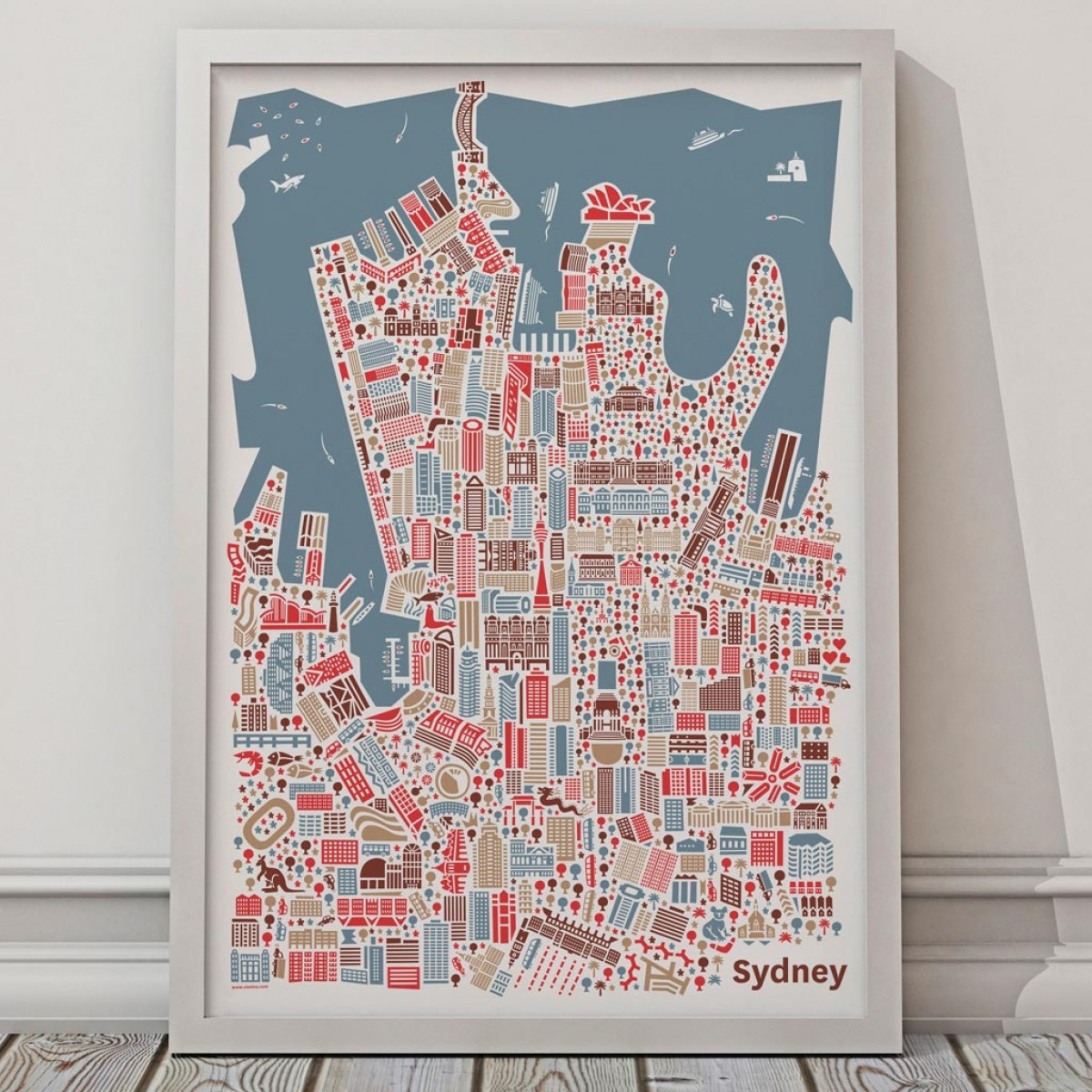 Vianina Sydney Poster 70x100