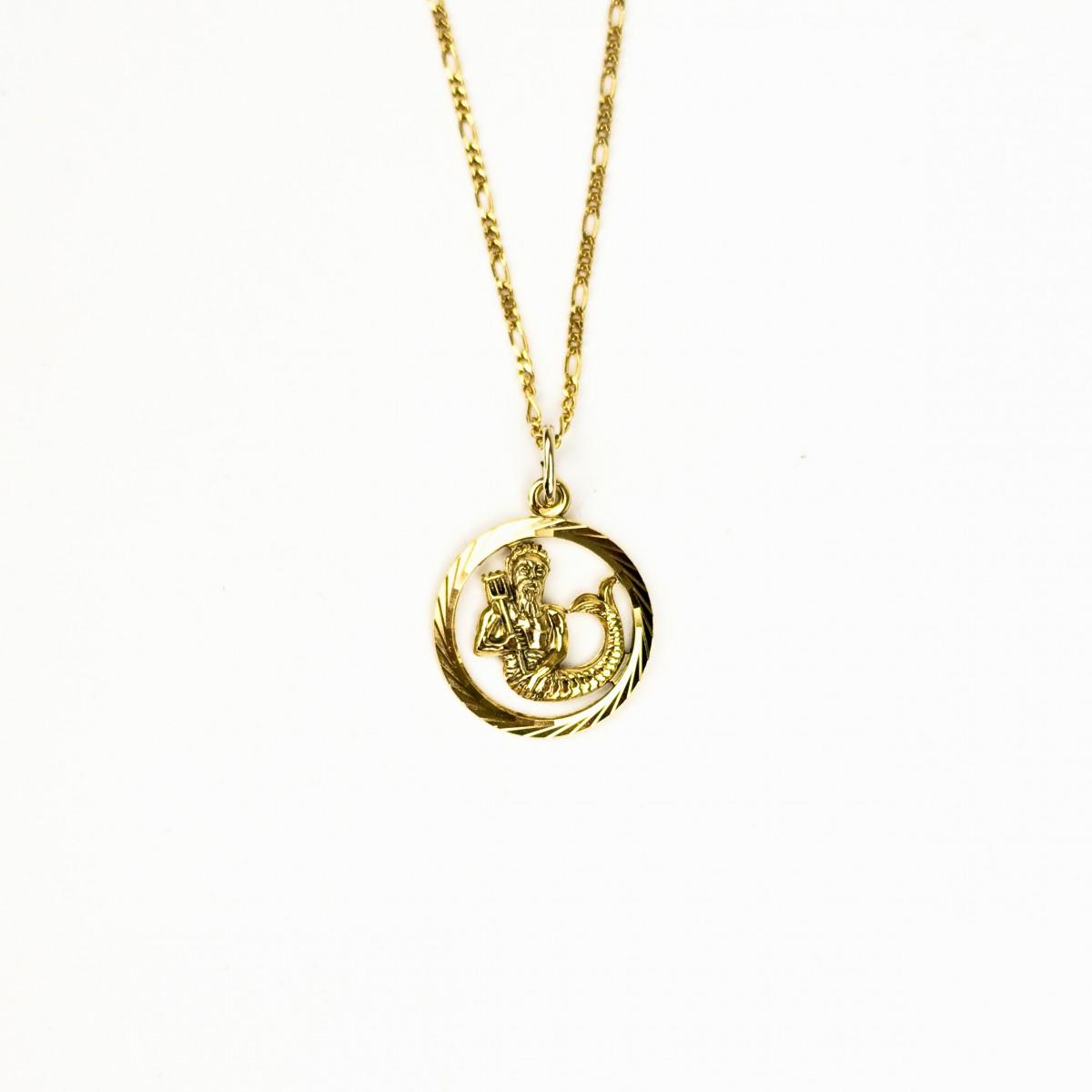 ST'ATOUR AQUARIUS // WASSERMANN – Sternzeichenkette in Gold, Silber oder Roségold