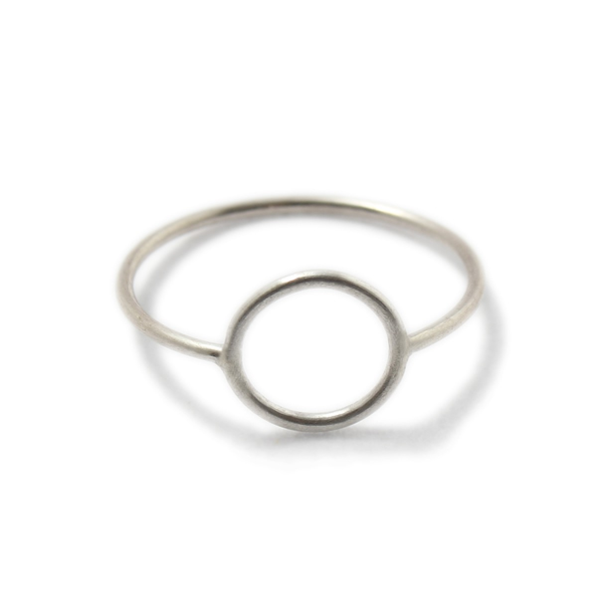 WIREround Ring Silber
