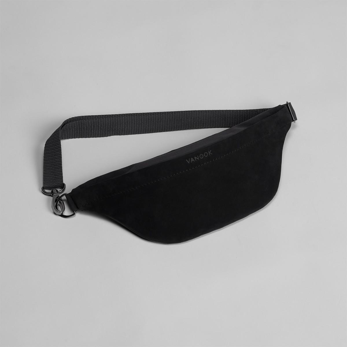 Bauchtasche mit Innentasche Black