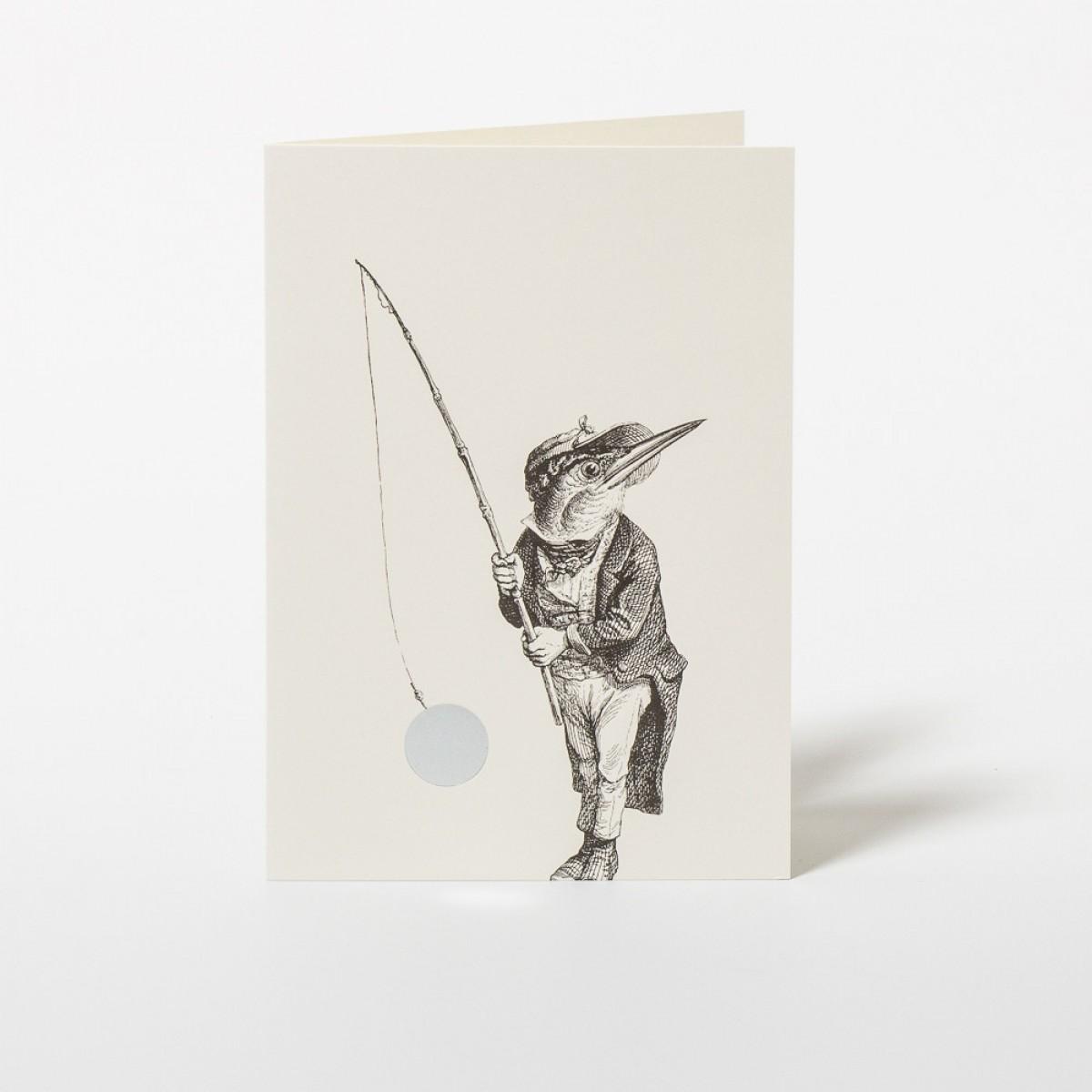"""Wednesday Paper Works KARTE GRANDVILLE """"FISHING"""""""