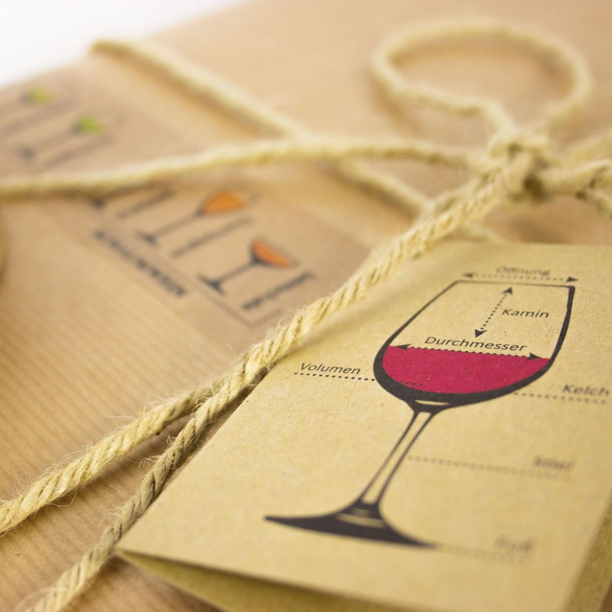 Wein Geschenkverpackungs-Set I