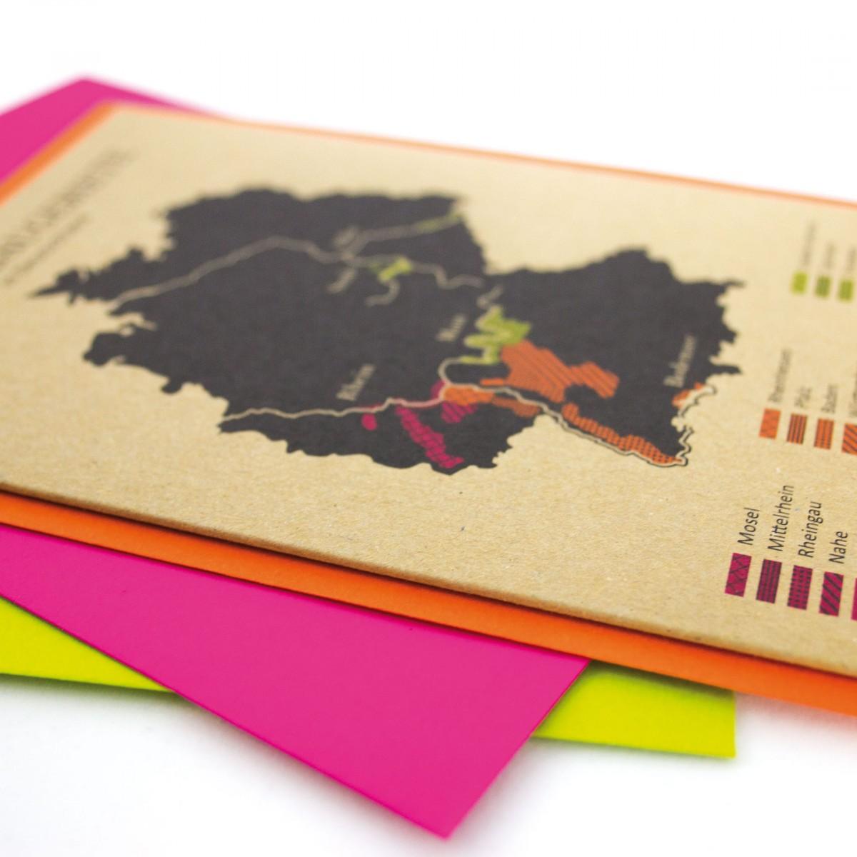 Grußkarten Weinanbaugebiete