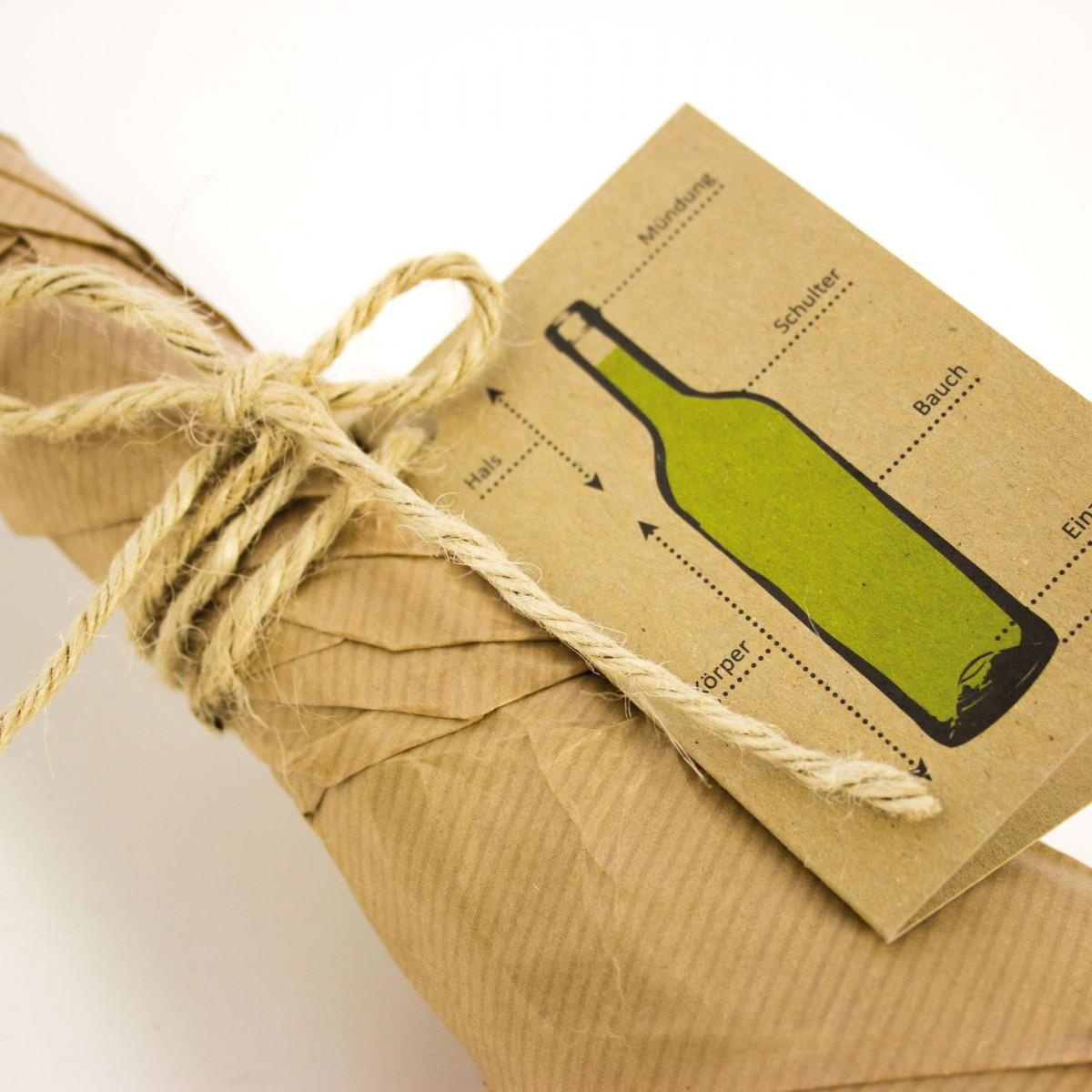 Geschenkanhänger Weinbedarf