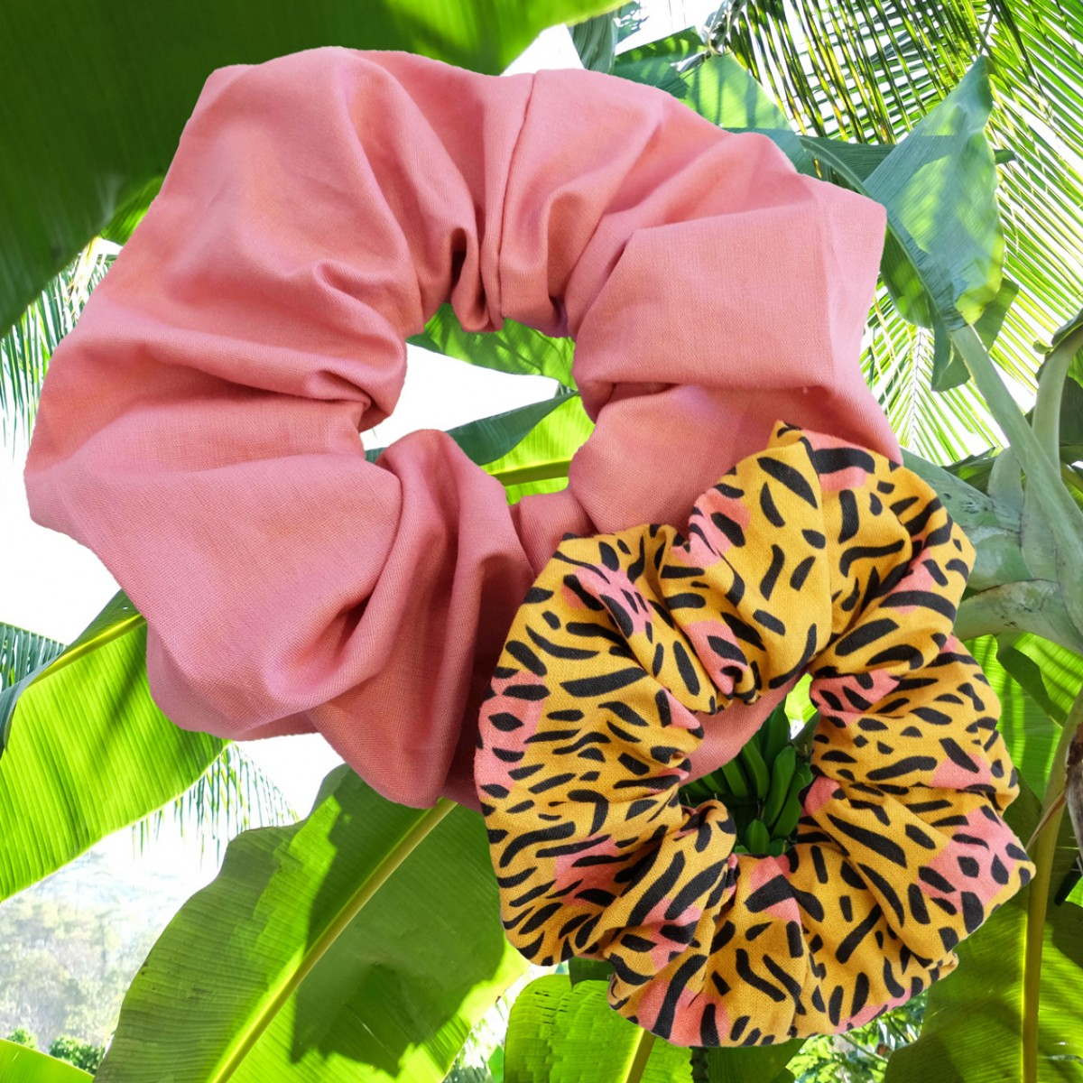 We Make Patterns - Scrunchie Set Dots - Pink