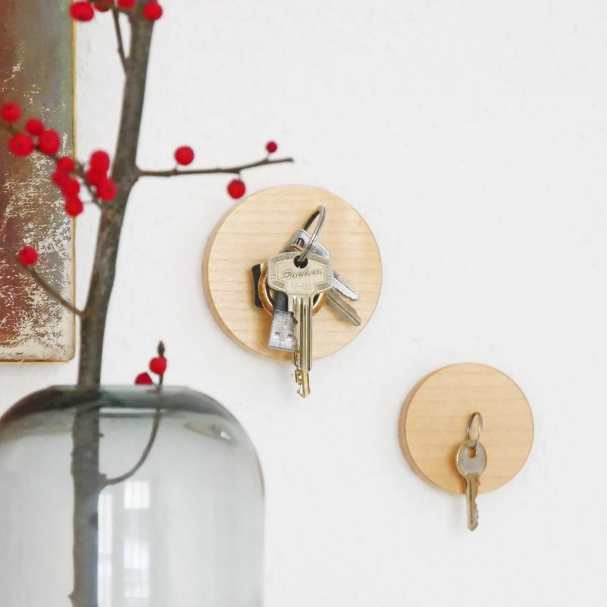 Schlüsselmagnet rund Größe 'S' - von LUMENQI