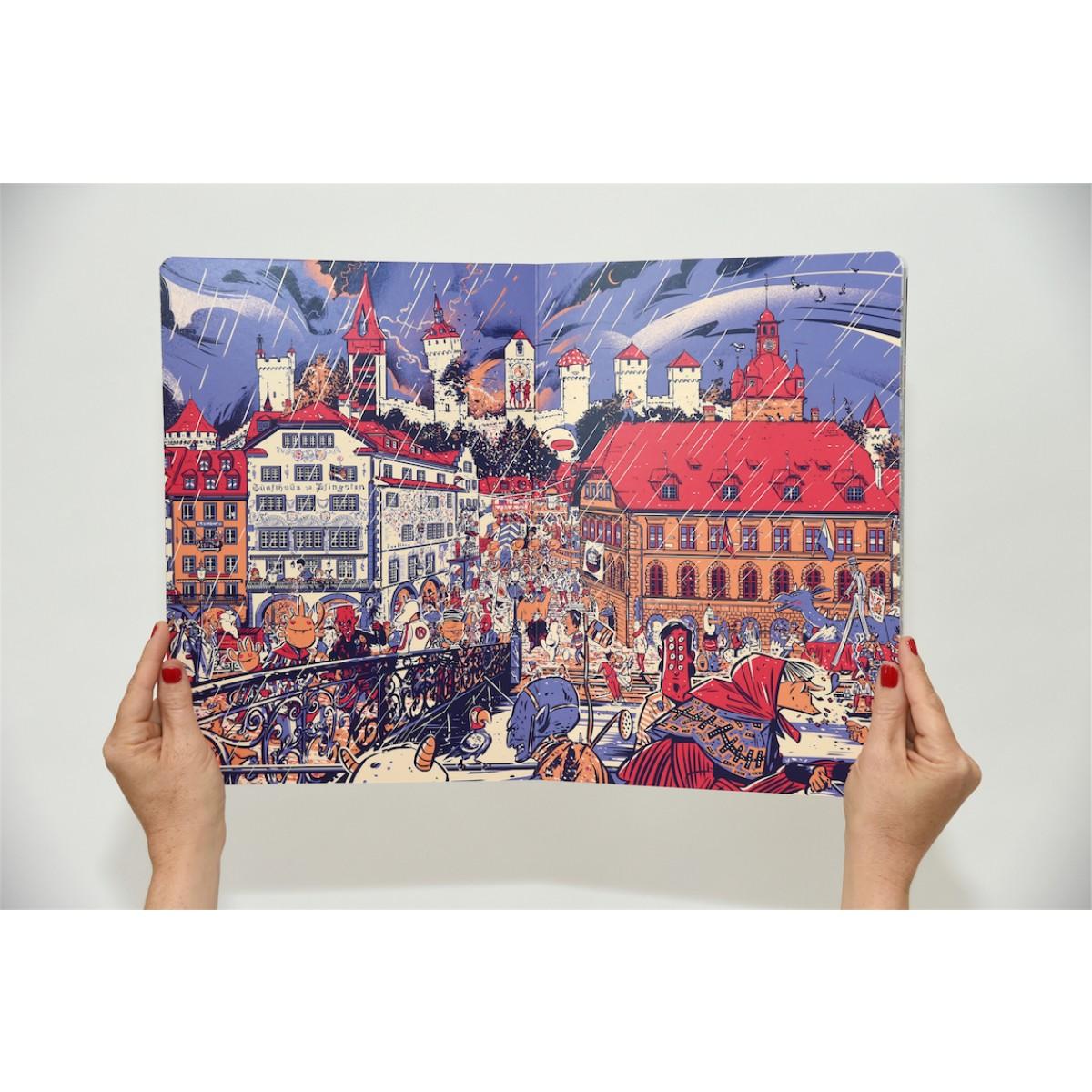 Wimmelbuch Luzern