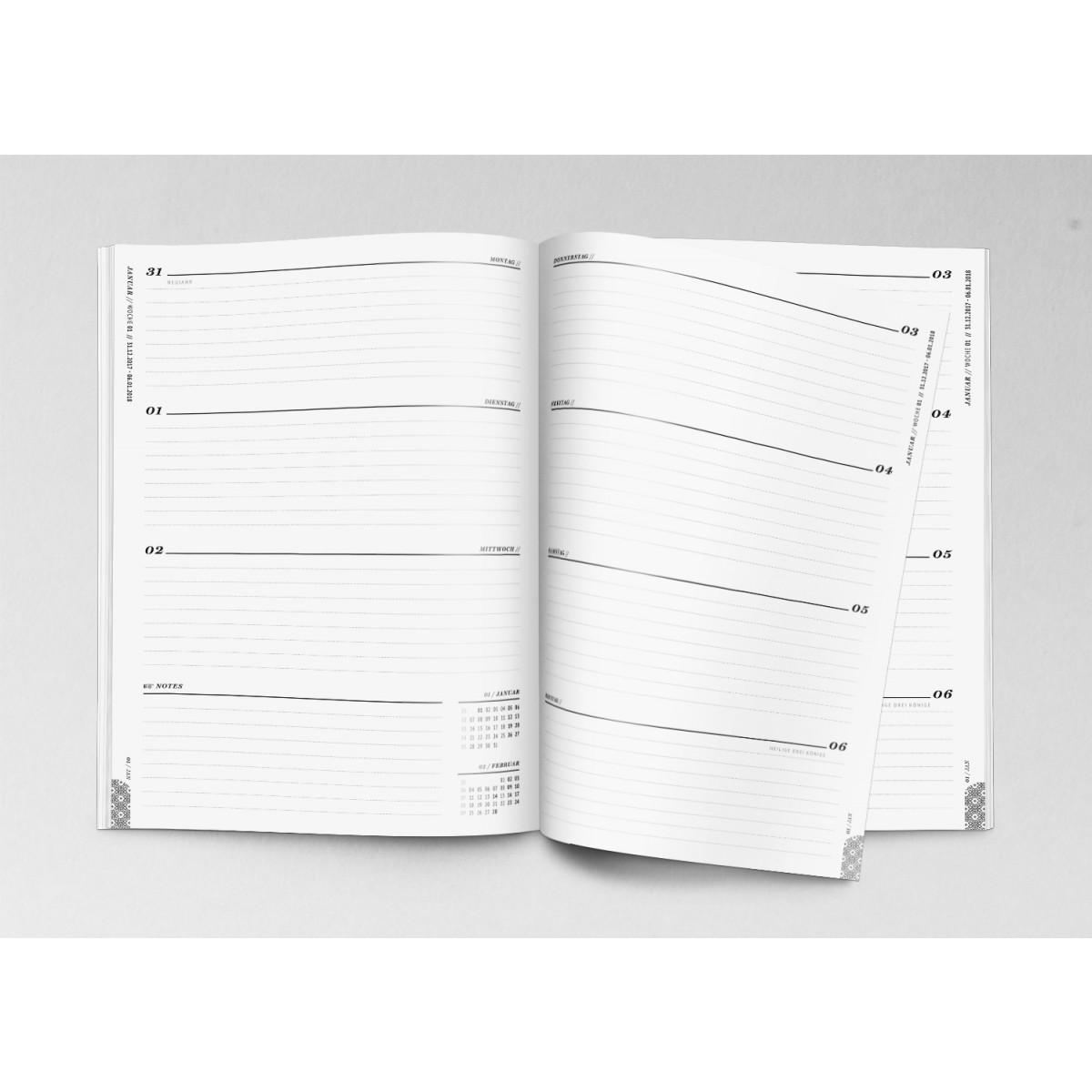 ACD DESIGN.BÜRO / Wochenkalender Terminplaner 2020 // DIN A6 & A5