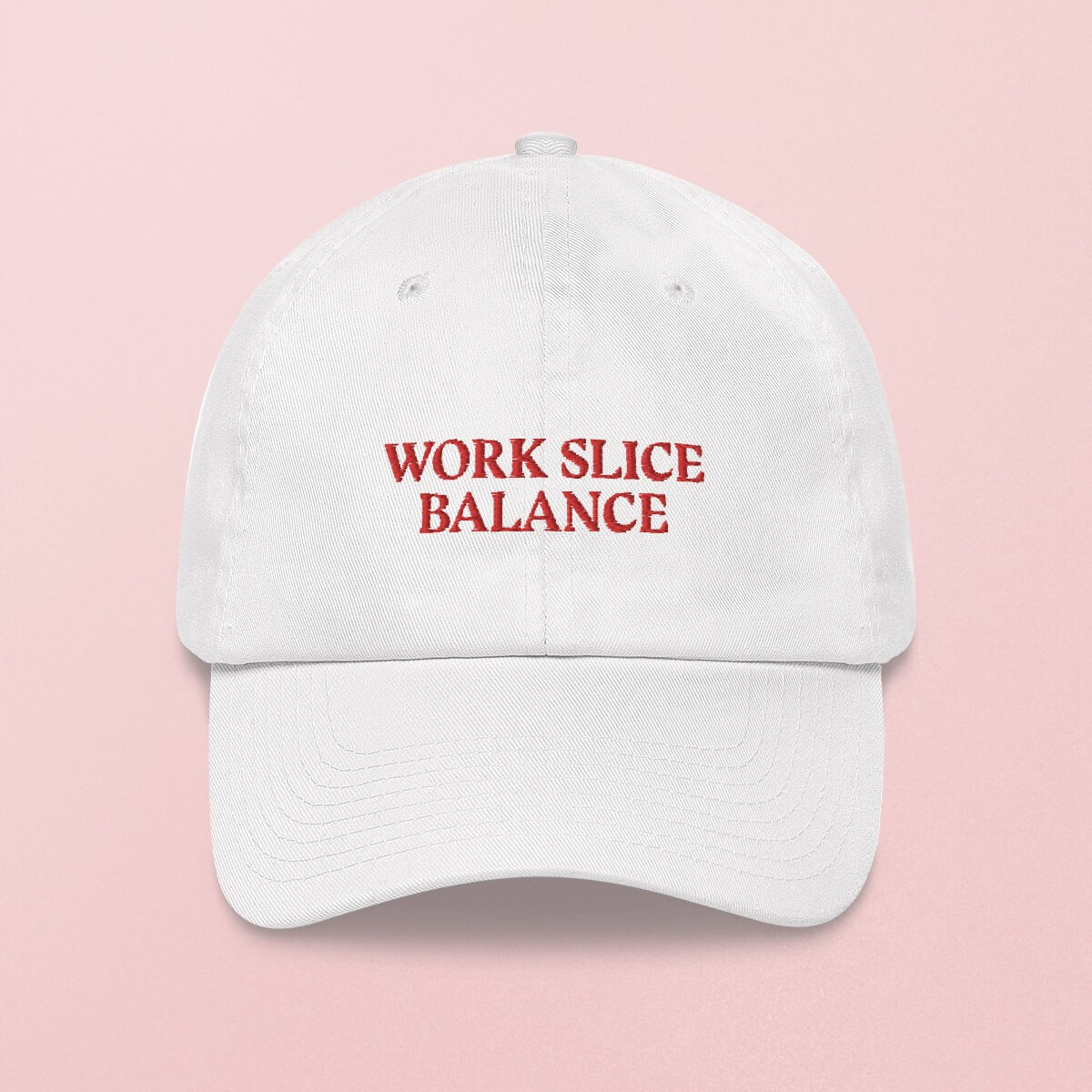 Work Slice Balance Cap, weiss – studio ciao