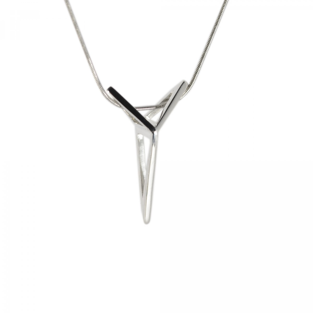 SPACE JEWELS. YOUNIVERSAL Origami, Halskette. Minimalistic Sharp Chic