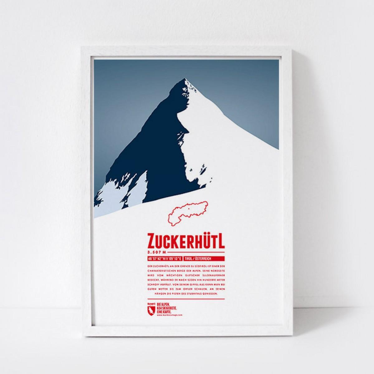 Marmota Maps – Zuckerhütl - Bergdruck
