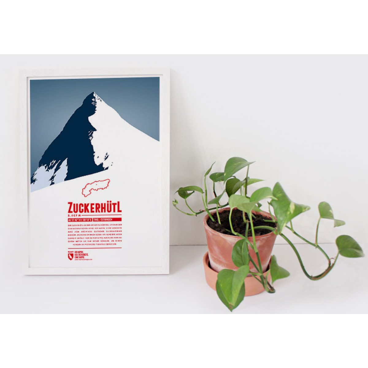 Zuckerhütl - Bergdruck