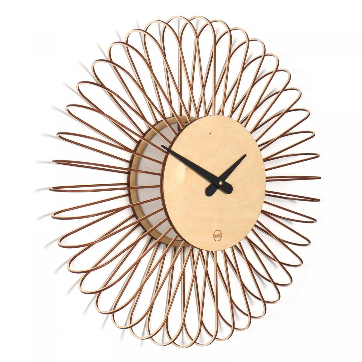 Farbflut design wanduhr circulo - Wanduhr sunflower ...