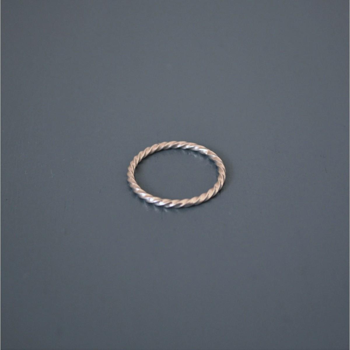 "Ring ""Verdreht"" aus 925/- Silber"