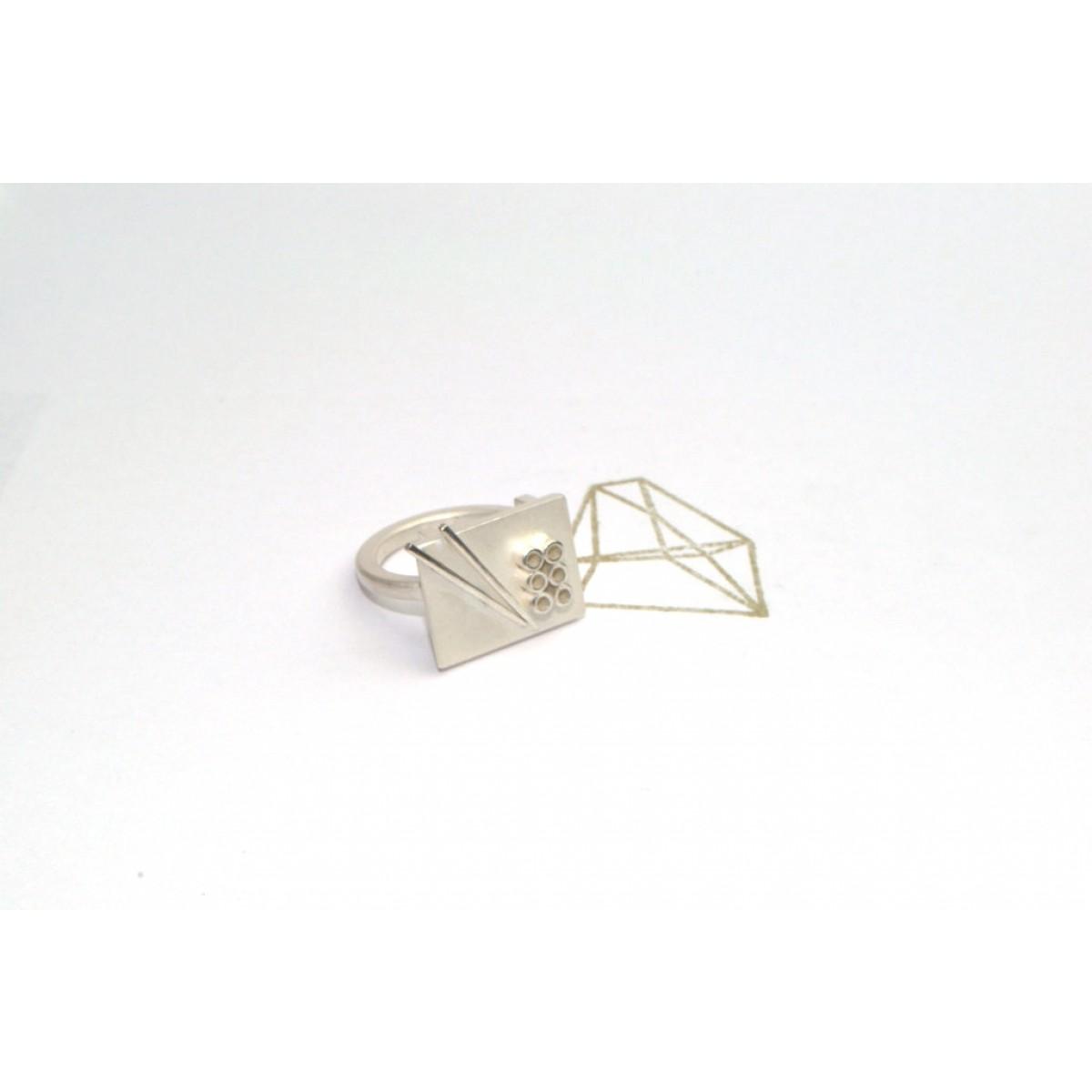 """TAFELSILBER  Ring """"Sushi"""" aus 925/- Silber"""