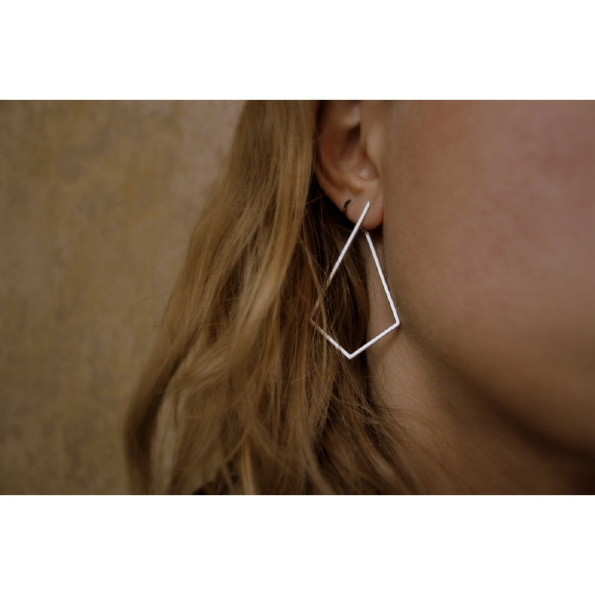 """Ohrringe """"Aufgestiegen"""" aus 925/- Silber"""