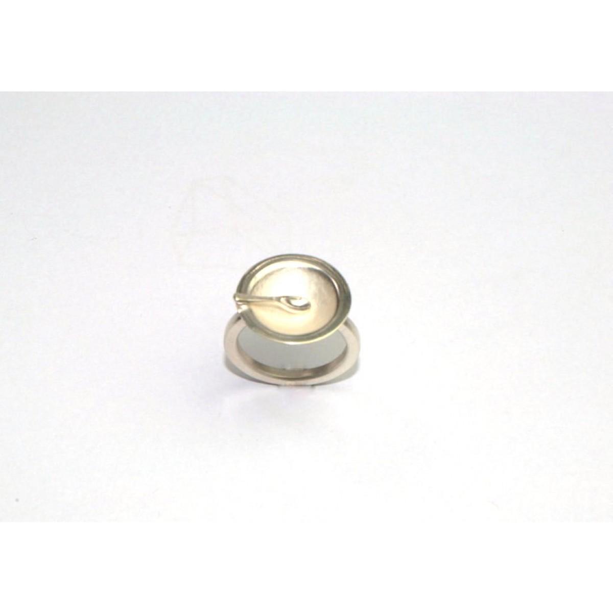 "TAFELSILBER  Ring ""Suppe"" aus 925/- Silber"