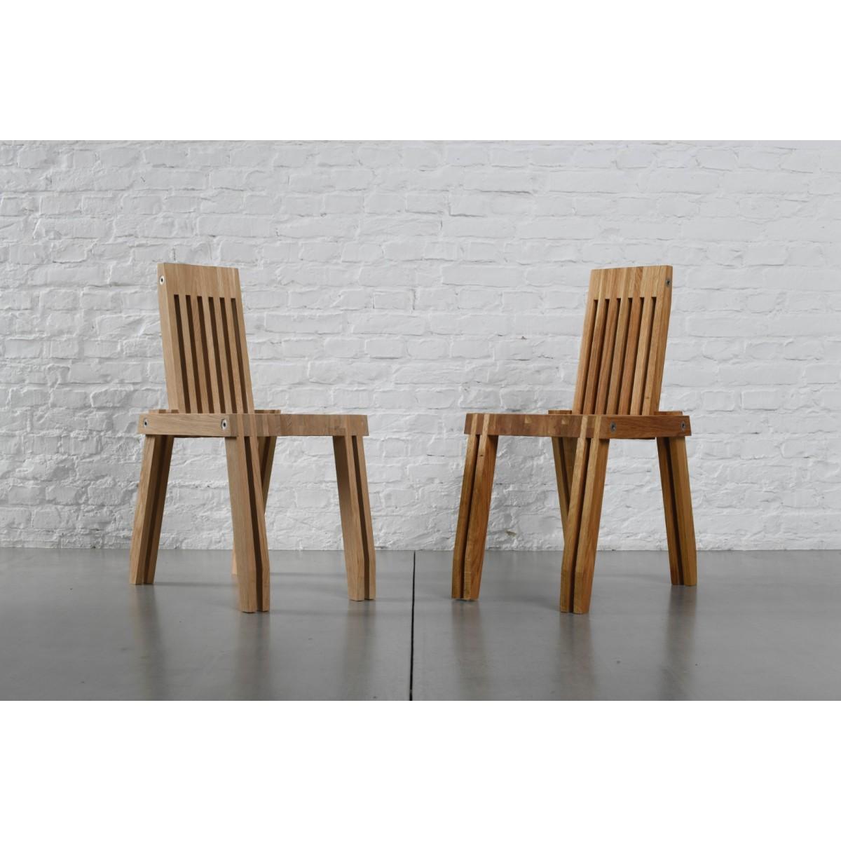 Tidyboy 'Shadow Catcher' Stuhl aus Eichenholz