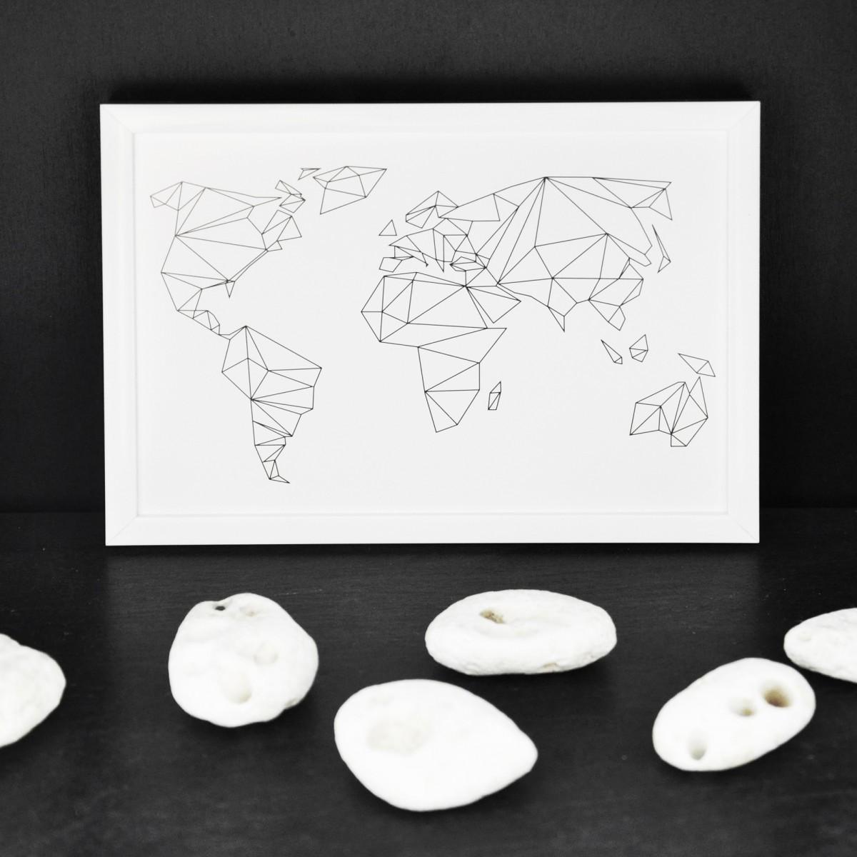 na.hili Postkarten SET: Geometrical World & HEY (10er-Set)