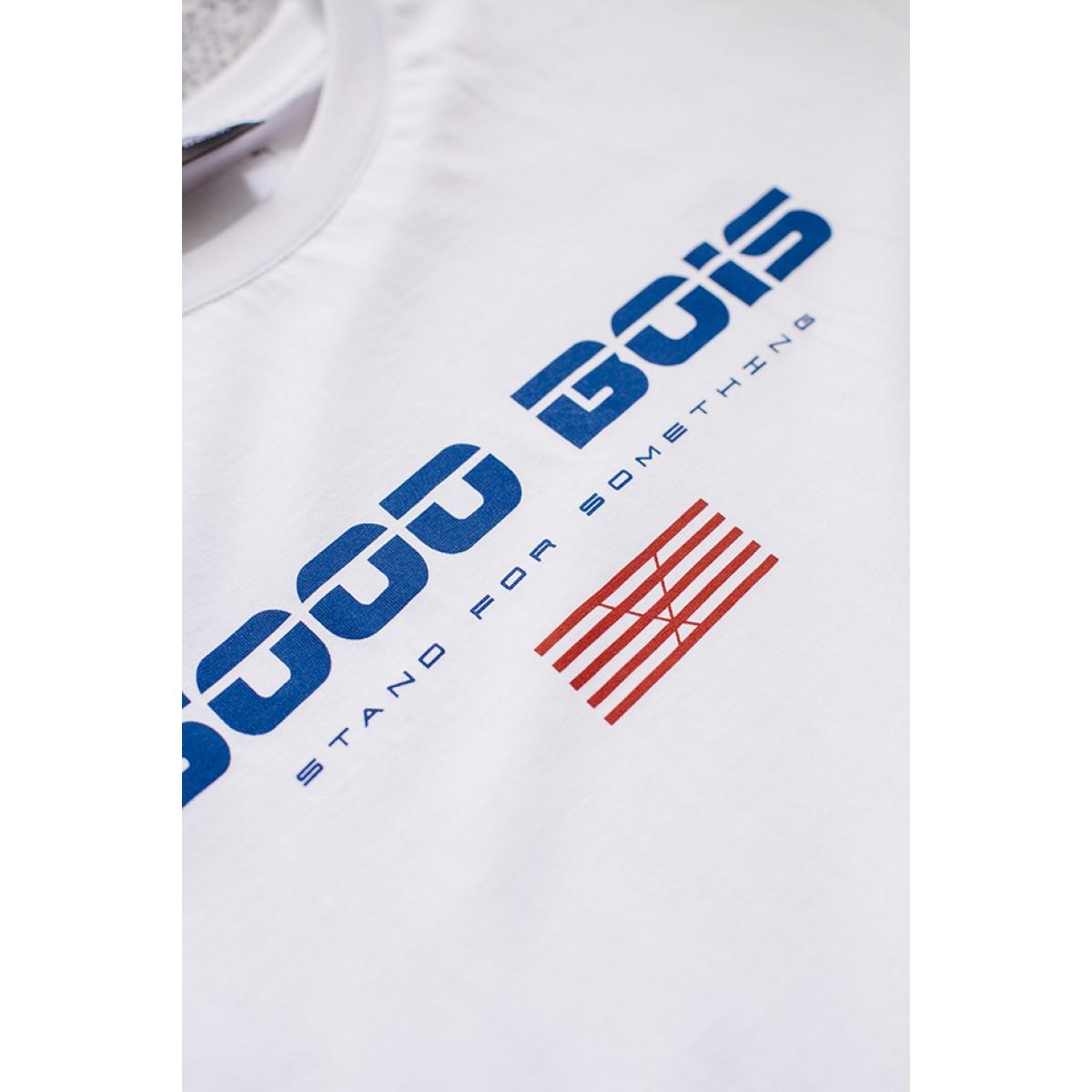 Goodbois Euro Flag T-Shirt white