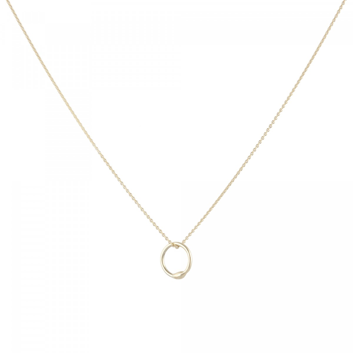 B KREB jewelry - RING necklace Gold