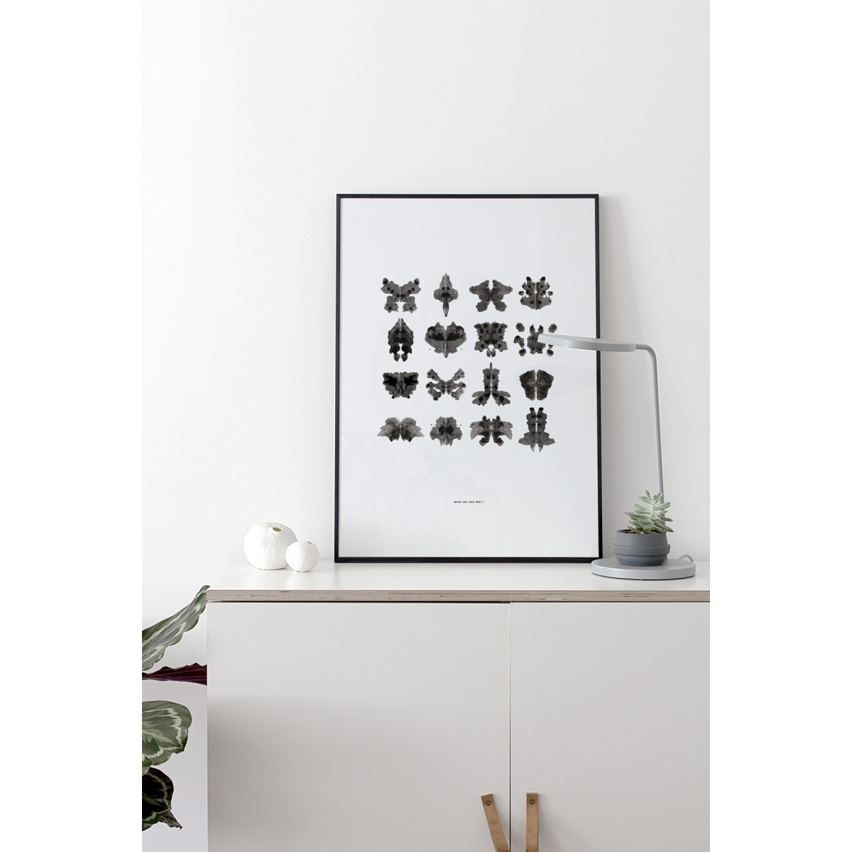 Coco Lapine Design What do you see ? Print