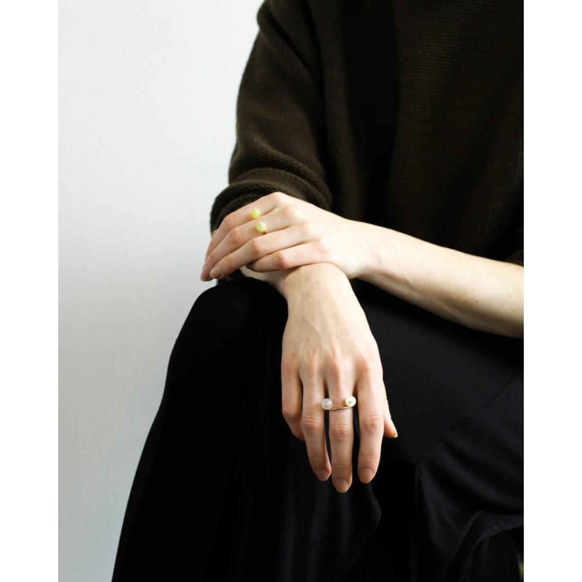 amelie schleifenheimer / Ring AMAZONIT