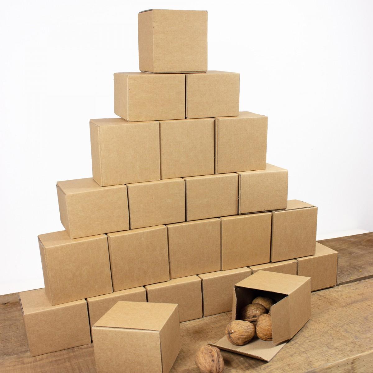 """Bow & Hummingbird Adventskalender Set mit Boxen """"Rot/Weiß"""""""
