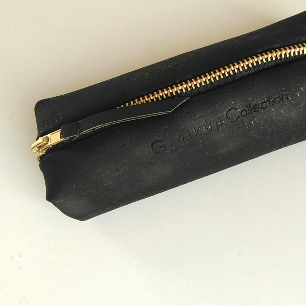 Grotkop Collection Kosmetiktasche AIR black kork