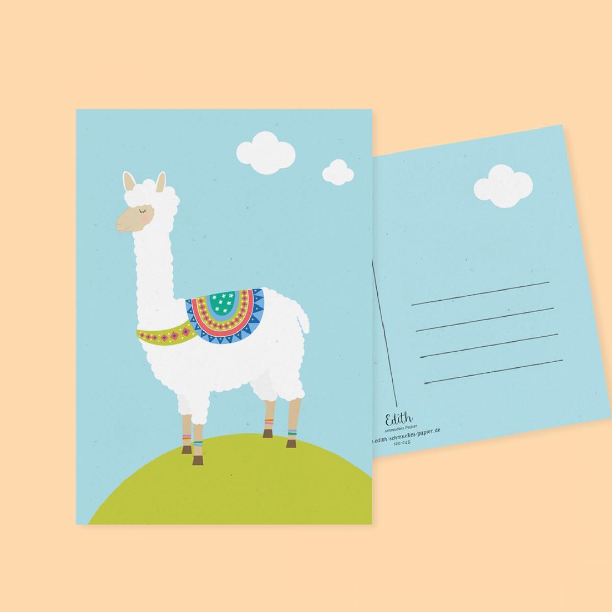 """Edith schmuckes Papier """"Für die Liebsten - Postkarten Set"""""""