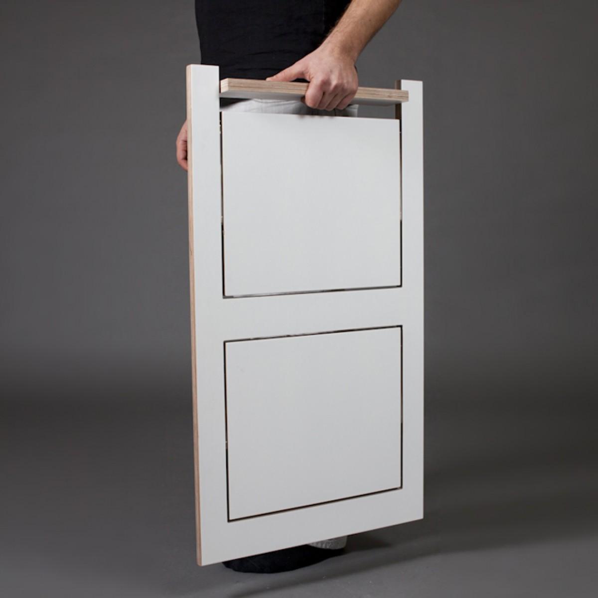 ambivalenz klappstuhl fl pps wei wei. Black Bedroom Furniture Sets. Home Design Ideas