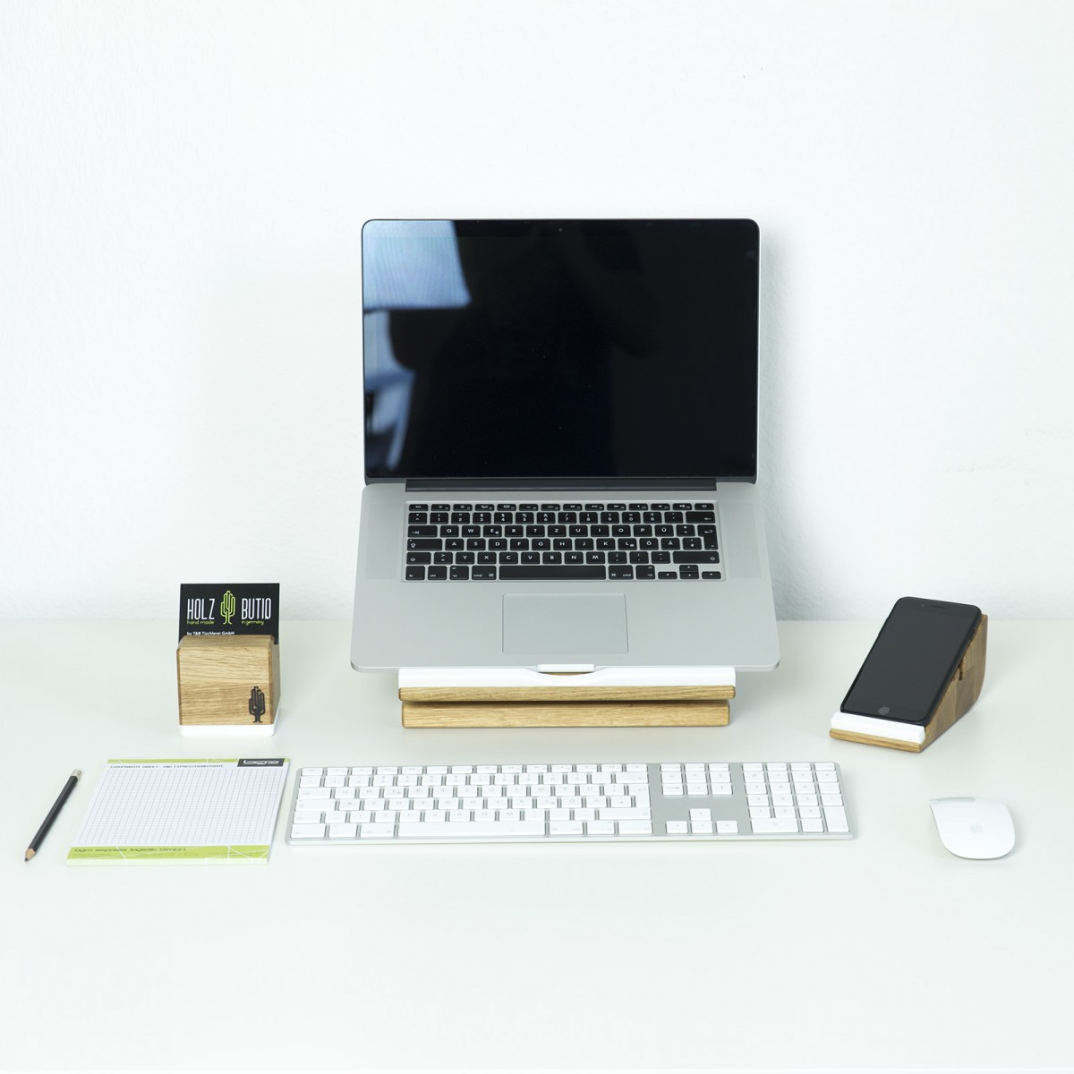 Desk Organizer stando, Laptop Stand | Apple Macbook Ständer